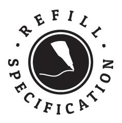 Refill Specification