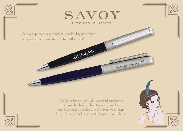 Savoy Advertisement