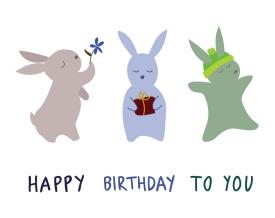 Rabbits rabbits rabbits!